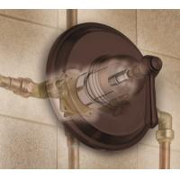 Buy cheap Brass 4-way tap connector with valve from Wholesalers