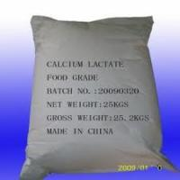 Buy cheap Calcium Lactate Food Additives Ingredients For Medicine from Wholesalers