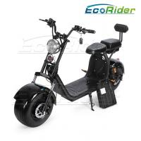 Buy cheap Harley scooter with 1500w big motor and double 60v 20ah lithium battery citycoco 2 wheel electric scooter from wholesalers