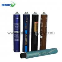 China Formula hair color Packing Empty Aluminum Tubes NCM 761210 100ml volume on sale