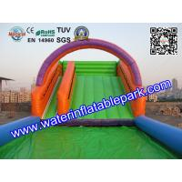 Buy cheap Outdoor Sport Game Zorb Ramp / Roller Ball Inflatable Steep Hill With Pool from Wholesalers