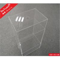 Buy cheap Custom Size Clear Storage Box Perspex Shoe Box Logo Available OEM from Wholesalers