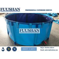 Buy cheap Tarpaulin PVC Collapsible koi tank folding Aquaponics Uae from Wholesalers
