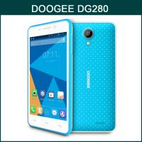 Buy cheap DOOGEE DG280 MTK6582 1.3GHz Quad Core 4.5 Inch FWVGA Screen Android 4.4 3G Smartphone from wholesalers