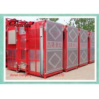 Buy cheap Twin Cage Personel Materials Construction Elevator , Builders Buck Hoist Elevator from Wholesalers