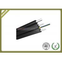 Buy cheap 12 Core FTTH Fiber Optic Cable / Outdoor Fiber Drop Cable For Transmission from wholesalers