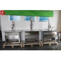 Buy cheap Stainless Steel Semi Automatic Aerosol Filling Machine for Leather Spray Can Filling from Wholesalers