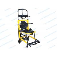 Buy cheap Foldaway Stair Stretcher , Aluminum Alloy Wheeled Emergency Stretcher from Wholesalers