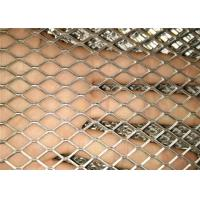 Quality Stretched Perforated Expanded Aluminium Mesh / Expanded Metal Screen Fit Gutter Guards for sale