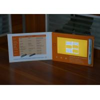 Buy cheap Digital innovational paper card 7inch screen lcd video brochure video booklet for healthcare strategy from Wholesalers