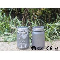 Buy cheap Customized Mason Jar Led Solar Lights , Solar Powered Mason Jar Lantern from Wholesalers