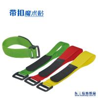 Quality Customized Size Adjustable Hook And Loop Fastener Straps With Plastic Buckle wholesale