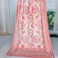 Buy cheap Custom Canada Woven Jacquard Beach Towels For Promotion Shop , 550gsm Weight from Wholesalers