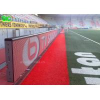 Buy cheap P8 Electronic Perimeter Football High definition LED screen Advertising from Wholesalers