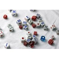 Buy cheap Colorful Plastic 8 / 10 / 12 / 14mm Casino Games Dice For Betting Games Cheat from Wholesalers