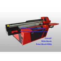 Buy cheap Commercial Multicolor Flatbed UV Printer With Ricoh Industrial Print Head from wholesalers