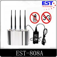 Buy cheap 2G / 3G Cell Phone Signal Blocker Jammer High Frequency EST-808A from Wholesalers