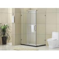 Buy cheap Simple Square Frosted Pivot Shower Door / Clear Glass Shower Door Enclosures from Wholesalers