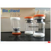 Buy cheap Hexarelin Powder Performance Enhancing Human Growth Hormone For Weight Loss CAS 140703-51-1 from Wholesalers