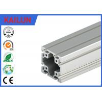 Buy cheap 40 X 40 MM T Slot Aluminum Extrusion Rails Square Hollow OEM ISO / TS16949:2009 from Wholesalers