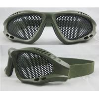 Buy cheap Optically Precise, Scratch Resistance Airsoft Military Goggles For Shooting Military Glass from wholesalers