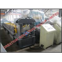 Buy cheap Aluminium / Steel Stepped Roofing Ridge Cap Corrugated Sheet Roll Forming Machine from wholesalers