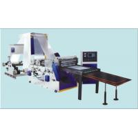 Buy cheap DFJ800-1600 Automatic Double-Unwinding Sheeting Machine, Slitter Rewinding Machine For Lamination Material from Wholesalers