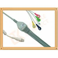 Quality Snap Colin BP88S 5 Lead Ecg Cable Insulated Type Ecg Lead Cable for sale