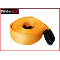 Buy cheap OEM Multi Color 3 Inch Polyester Heavy Duty Tow Straps Load Capacity 30000 lbs from Wholesalers