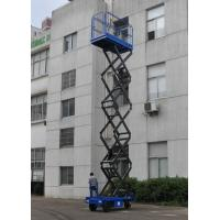 Buy cheap Platform Height Max 11m Motorized Hydraulic Scissor Lift Platform with Overload Safety Protection Device from wholesalers