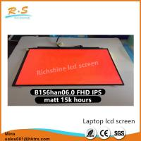 Quality 15.6 Inch 1080p Matte Auo LCD Panel ,  IPS Tft Lcd Display B156HAN06.0 wholesale