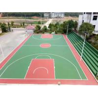 Buy cheap PU Silicone Material Multifunctional Sport Court With Purple Color from wholesalers