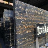 Buy cheap Portoro Gold Marble Stone Slab , Italian Marble Slab CE Certification from Wholesalers