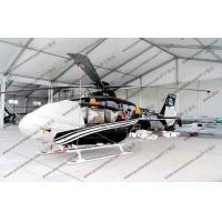 Buy cheap White Waterproof Aircraft Hangar Tent For Helicopter Parking Or As Hanger Shelter from wholesalers