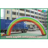 Buy cheap 7mL X 4mH Giant Inflatable Entrance Arch / Rainbow Arch Oxford Cloth for Event from wholesalers