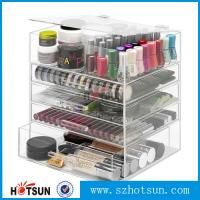 Buy cheap NEW! DELUXE MAKEUP ORGANIZER - ACRYLIC 5 TIER DRAWER COSMETIC DISPLAY CASE from Wholesalers