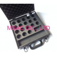 Buy cheap Black Aluminum Cue Case MS-Sp-03 Snooker Ball Case Fireproof With Foam from wholesalers