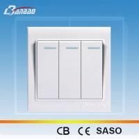 Buy cheap LK4005 white color rocker PC wall switch from Wholesalers