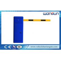 Buy cheap Clutch Device Toll Barrier Gate 1 - 6 Meters Aluminum Alloy Straight Arm from wholesalers