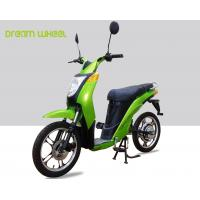 Buy cheap 2 Wheels Pedal Assist Electric Bike , Electric Motor Assisted Bicycle 25-32km / H Speed from wholesalers