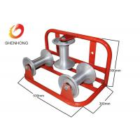 Buy cheap Spray Painting Surface Corner Cable Roller For Underground Cable Laying from Wholesalers