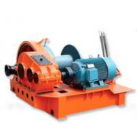Buy cheap Manual Control Fast Speed Electric Wire Rope Winch ,  3 ~ 100kw 200 ~10000kgs from wholesalers