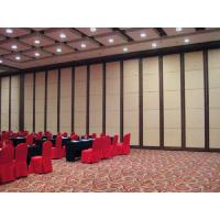 Buy cheap Soundproof Operable Sliding Partition Walls For Office / Conference Room from wholesalers