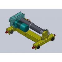 Buy cheap Double Girder Electric Trolley Hoist , Material Lifting 0.5 ~15m/min from Wholesalers