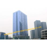 Buy cheap EPC Project Of Multi-storey Steel Building For Modern Glass Curtain Wall Office Building from wholesalers