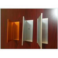 Buy cheap Wood Grain Aluminum Railing Profiles , Engineering Aluminium Profile For Kitchen Cabinets  from Wholesalers