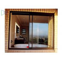 Buy cheap Aluminium Double Glazing Horizontal Sliding Windows Impact And Abrasion Resistant from wholesalers
