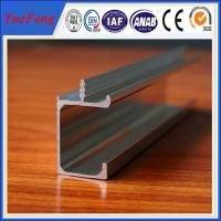 Buy cheap Modern aluminum G profile cabinet handles 3.6*19.2mm from Wholesalers