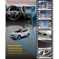 Quality Hyundai IX35 360 Rear View Camera System With DVR Function, Loop Recording in 4-way DVR in real time wholesale