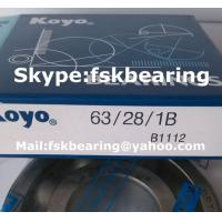 Quality Automobile Gearbox SKF 63/28 Single Row ABEC 7 Bearings Steel Balls for sale